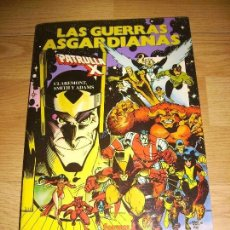 Cómics: LA PATRULLA X - LAS GUERRAS ASGARDIANAS. Lote 147039014