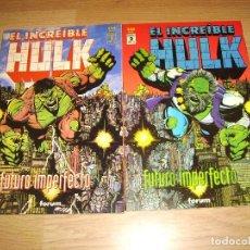Cómics: EL INCREIBLE HULK - COLECCION COMPLETA 2 NUMEROS. Lote 147039470