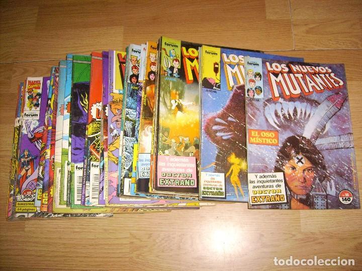 LOS NUEVOS MUTANTES - COLECCION AVANZADA 41 NUMEROS (Comics und Tebeos - Forum - Nuevos Mutantes)
