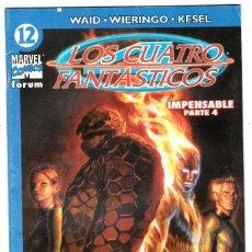 Cómics: LOS 4 FANTASTICOS - VOL V DEL 2004 - FORUM- FORMATO GRAPA - Nº 12. Lote 147113310