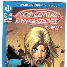 Cómics: LOS 4 FANTASTICOS - VOL V DEL 2004 - FORUM- FORMATO GRAPA - Nº 11. Lote 147113710