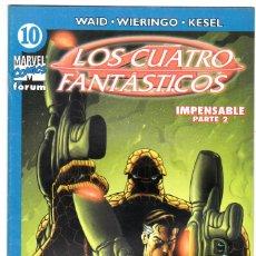 Cómics: LOS 4 FANTASTICOS - VOL V DEL 2004 - FORUM- FORMATO GRAPA - Nº 10. Lote 147113742
