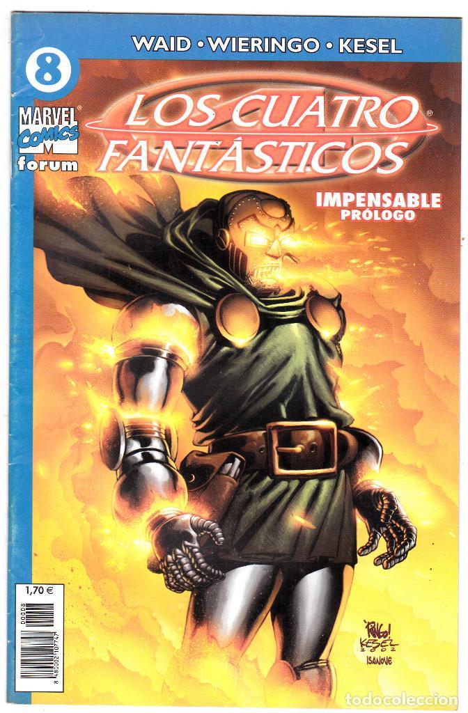 LOS 4 FANTASTICOS - VOL V DEL 2004 - FORUM- FORMATO GRAPA - Nº 8 (Tebeos y Comics - Forum - 4 Fantásticos)