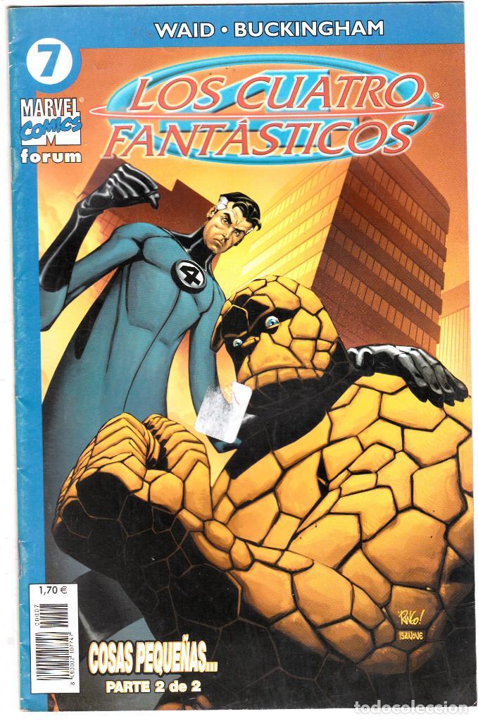 LOS 4 FANTASTICOS - VOL V DEL 2004 - FORUM- FORMATO GRAPA - Nº 7 (Tebeos y Comics - Forum - 4 Fantásticos)