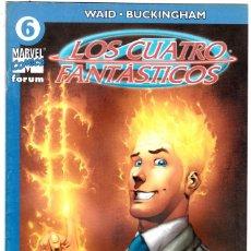 Cómics: LOS 4 FANTASTICOS - VOL V DEL 2004 - FORUM- FORMATO GRAPA - Nº 6. Lote 147114774