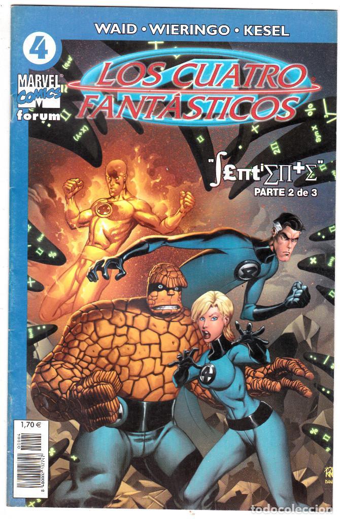 LOS 4 FANTASTICOS - VOL V DEL 2004 - FORUM- FORMATO GRAPA - Nº 4 (Tebeos y Comics - Forum - 4 Fantásticos)
