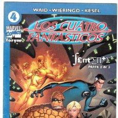 Cómics: LOS 4 FANTASTICOS - VOL V DEL 2004 - FORUM- FORMATO GRAPA - Nº 4. Lote 147114934