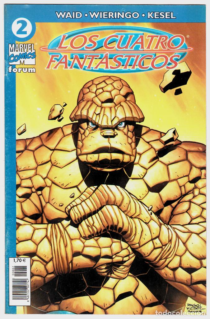 LOS 4 FANTASTICOS - VOL V DEL 2004 - FORUM- FORMATO GRAPA - Nº 2 (Tebeos y Comics - Forum - 4 Fantásticos)