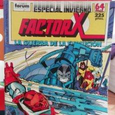 Cómics: FACTOR X ESPECIAL INVIERNO LA GUERRA DE LA EVOLUCION. Lote 147180262