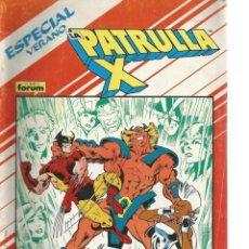 Cómics: PATRULLA X ESPECIAL VERANO . Lote 147213670