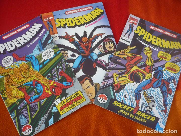 SPIDERMAN SEGUNDA EDICION NºS 2, 3 Y 4 ( ROMITA CONWAY ) ¡BUEN ESTADO! FORUM MARVEL (Tebeos y Comics - Forum - Spiderman)