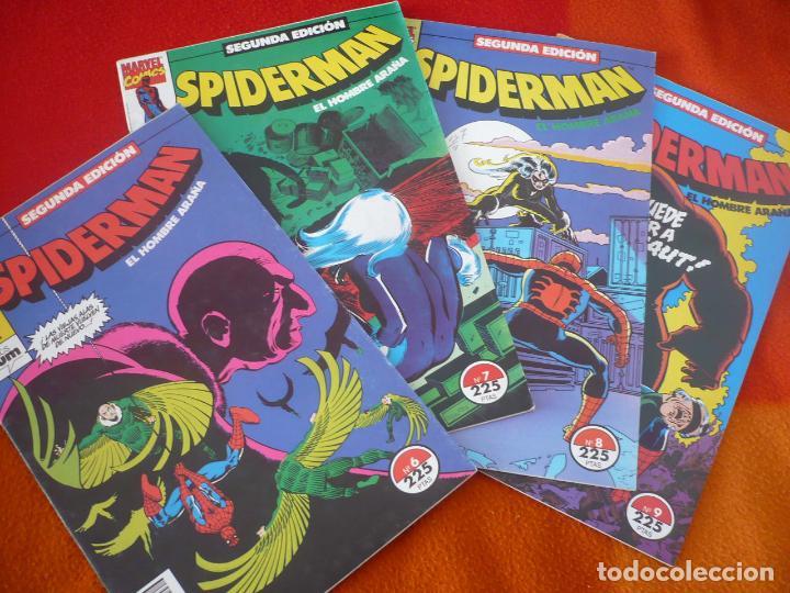 SPIDERMAN SEGUNDA EDICION NºS 6, 7, 8 Y 9 ( ROMITA CONWAY ) ¡BUEN ESTADO! FORUM MARVEL (Tebeos y Comics - Forum - Spiderman)