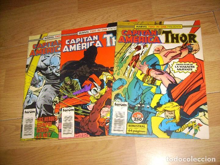 CAPITAN AMERICA / THOR - LOTE 3 NUMEROS (Comics und Tebeos - Forum - Capitán América)