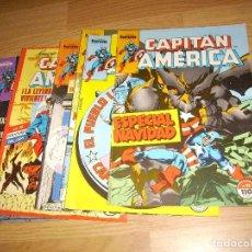 Cómics: CAPITAN AMERICA - LOTE 6 NUMEROS. Lote 147232570