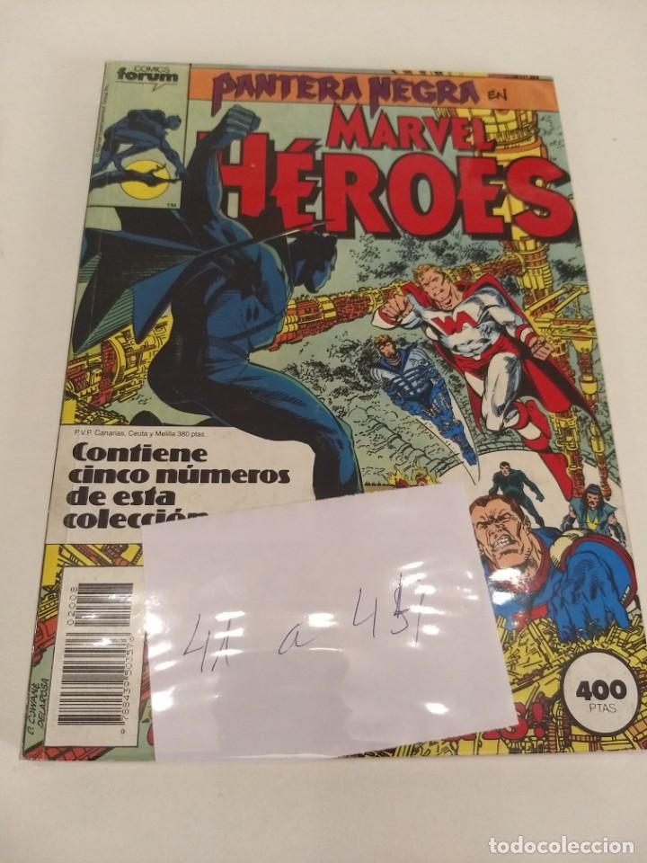 MARVEL HEROES VOL.1 NUMS 41-42-43-44. RETAPADO (Tebeos y Comics - Forum - Retapados)
