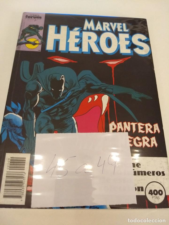 MARVEL HEROES VOL.1 NUMS 45-46-47-48-49. RETAPADO (Tebeos y Comics - Forum - Retapados)