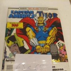 Comics: CAPITAN AMERICA - THOR VOL.1. NUMS. 63-64-65. Lote 147282914