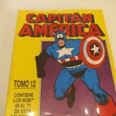 Cómics: CAPITAN AMERICA - THOR VOL.1. NUMS. 57-58-59-60-61-62-63-64-65-66-67-68-69-70-71. RETAPADOS. Lote 147283178