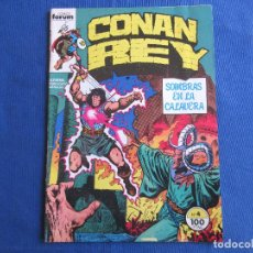 Cómics: CONAN REY - VOL I NÚM. 4 VOLUMEN 1 FORUM 1984 POR ROY THOMAS & JOHN BUSCEMA. Lote 147300950