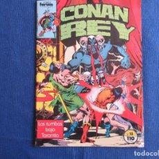 Cómics: CONAN REY - VOL I NÚM. 13 VOLUMEN 1 FORUM 1985 POR ERNIE CHAN. Lote 147306694