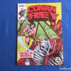 Cómics: CONAN REY - VOL I NÚM. 14 VOLUMEN 1 FORUM 1985 POR MARK SILVESTRI. Lote 147307130