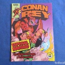 Cómics: CONAN REY - VOL I NÚM. 15 VOLUMEN 1 FORUM 1985 POR MARK SILVESTRI. Lote 147307462