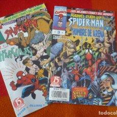Cómics: SPIDERMAN MARVEL TEAM UP NºS 2 Y 3 ( PETER ) ¡BUEN ESTADO! MARVEL FORUM . Lote 147312410