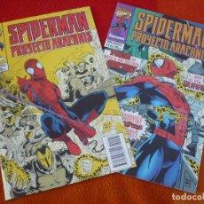 Cómics: SPIDERMAN PROYECTO ARACHNIS Nº 1 Y 4 ¡BUEN ESTADO! MARVEL FORUM . Lote 147313170