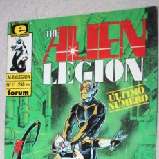 Cómics: THE ALIEN LEGION Nº 11. ULTIMO NUMERO. . Lote 147326610