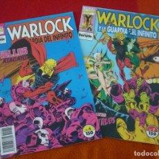 Cómics: WARLOCK Y LA GUARDIA DEL INFINITO NºS 4 Y 7 ( STARLIN ) ¡BUEN ESTADO! FORUM MARVEL. Lote 147344806