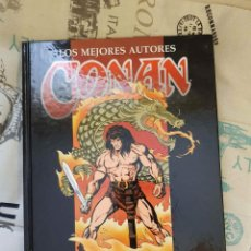Cómics: LOS MEJORES AUTORES DE CONAN: ERNIE CHAN (TAPA DURA, ED. FORUM, 200 PÁGINAS B/N). Lote 147441894