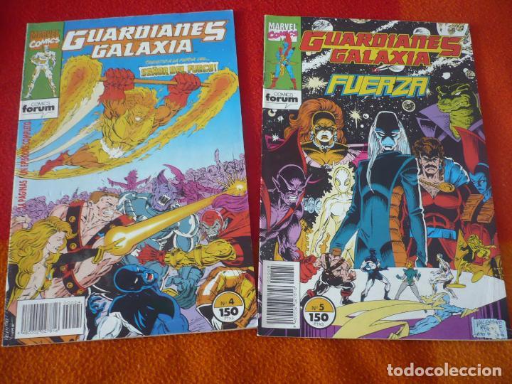LOS GUARDIANES DE LA GALAXIA NºS 4 Y 5 FORUM MARVEL (Tebeos y Comics - Forum - Otros Forum)