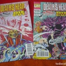 Comics : DEATH'S HEAD II & EL ORIGEN DE DIE CUT NºS 1 Y 2 ¡COMPLETA! ¡BUEN ESTADO! FORUM MARVEL UK . Lote 147456686