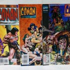 Cómics: LOTE DE 3 EJEMPLARES DE CONAN. Lote 147472150