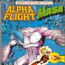 Cómics: ALPHA FLIGHT LA MASA RETAPADO NÚMEROS 48-49-50 CÓMICS FÓRUM MARVEL. Lote 147499422