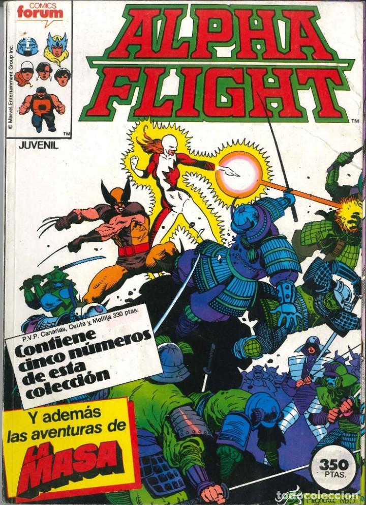 ALPHA FLIGHT RETAPADO NÚMEROS 32-33-34-35 CÓMICS FÓRUM MARVEL (Tebeos y Comics - Forum - Alpha Flight)