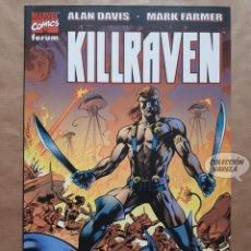 Cómics: KILLRAVEN - LA GUERRA DE LOS MUNDOS - ALAN DAVIS Y MARK FARMER - FORUM - JMV. Lote 147505382