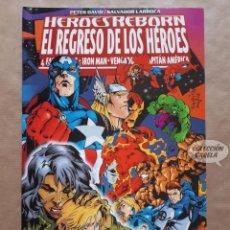 Cómics: HÉROES REBORN - EL REGRESO DE LOS HÉROES - FORUM - JMV. Lote 147506422