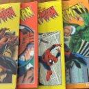 Cómics: SPIDERMAN LA HISTORIAS JAMAS CONTADAS COMPLETA 5 TOMOS. Lote 147510638