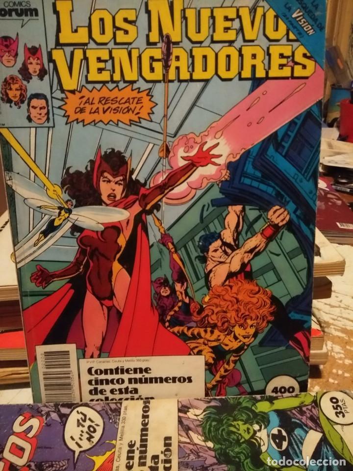 LOS NUEVOS VENGADORES (COMICS FORUM / CONTIENE CINCO NUMEROS : 41 Y SIGUIENTES ) (Tebeos y Comics - Forum - Retapados)
