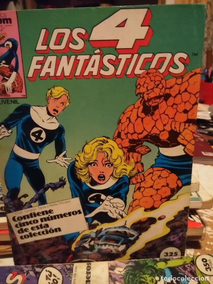 LOS 4 FANTASTICOS (COMICS FORUM / CONTIENE CINCO NUMEROS : 36 Y SIGUIENTES ) (Tebeos y Comics - Forum - Retapados)