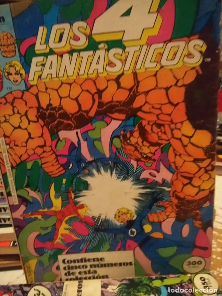 LOS 4 FANTASTICOS (COMICS FORUM / CONTIENE CINCO NUMEROS : 31 Y SIGUIENTES ) (Tebeos y Comics - Forum - Retapados)