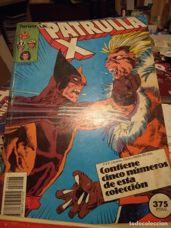 PATRULLA X (COMICS FORUM / CONTIENE CINCO NUMEROS : 72 Y SIGUIENTES ) (Tebeos y Comics - Forum - Retapados)