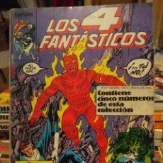 Cómics: LOS 4 FANTASTICOS (COMICS FORUM / CONTIENE CINCO NUMEROS : 61 Y SIGUIENTES ) . Lote 147529082