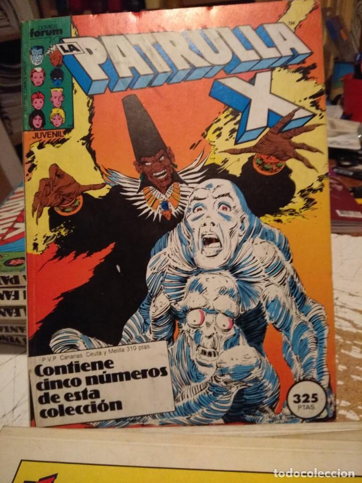 PATRULLA X (COMICS FORUM / CONTIENE CINCO NUMEROS : 37 Y SIGUIENTES ) (Tebeos y Comics - Forum - Retapados)