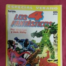 Cómics: LOS 4 FANTASTICOS VOL. 1. ESPECIAL VERANO. 1990. FORUM. Lote 147541410