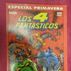 Cómics: LOS 4 FANTASTICOS VOL. 1. ESPECIAL PRIMAVERA. FORUM. Lote 147542842