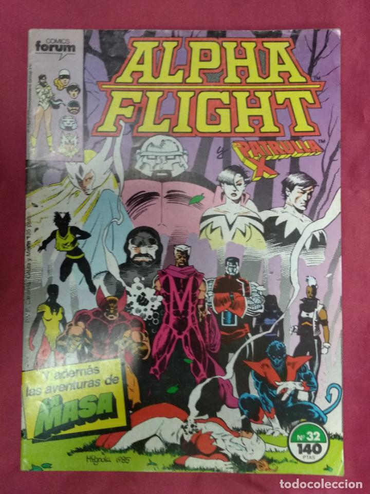 ALPHA FLIGHT. Nº 32. FORUM (Tebeos y Comics - Forum - Alpha Flight)