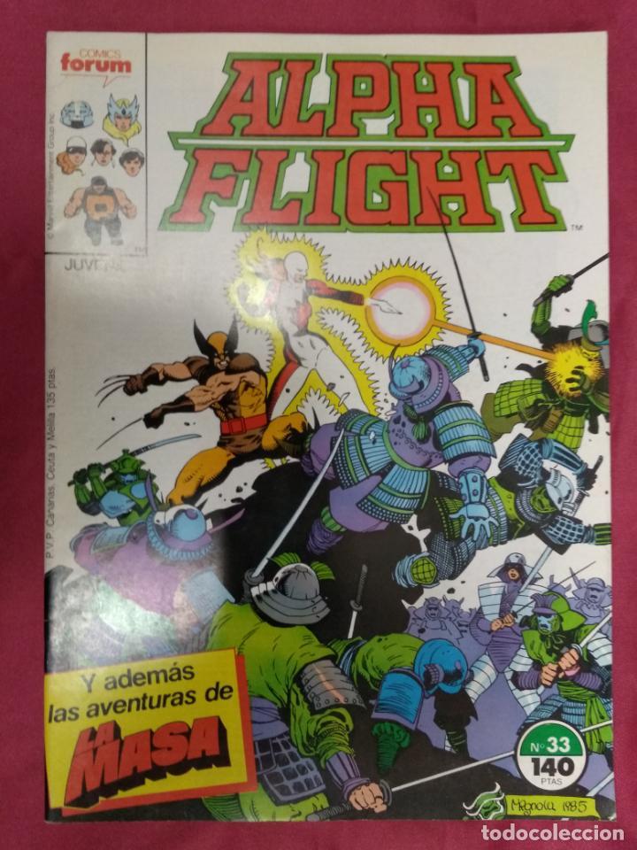 ALPHA FLIGHT. Nº 33. FORUM (Tebeos y Comics - Forum - Alpha Flight)
