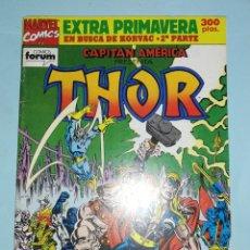 Comics: CAPITÁN AMÉRICA PRESENTA THOR. EN BUSCA DE KORVAC. CONTIENE EL POSTER. Lote 214220086